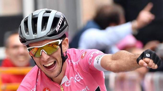 Giro d'Italia 2018, Simon Yates (Ansa)