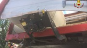 I danni al camion