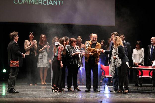 La storica profumeria Taussi, vincitrice nella categoria Negozi (Fotoprint)