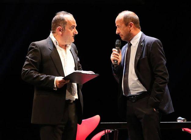 Gag con Amerigo Varotti, direttore Confcommercio (Fotoprint)