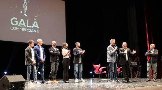 Gran Galà dei commercianti, un momento della serata al teatro della Fortuna (Fotoprint)