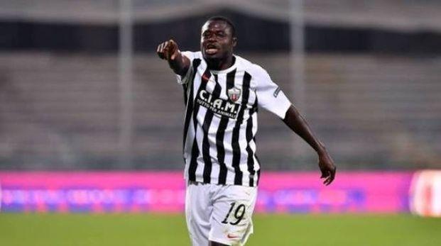 Il centrocampista ghanese Bright Addae