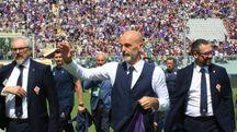 Il tecnico della Fiorentina Stefano Pioli (Germogli)