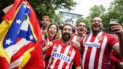 Tifosi dell'Atletico Madrid (AnsaAp)