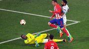 Antoine Griezmann mette a segno il gol del 2-0 (AnsaAp)