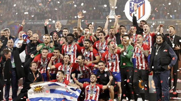 L'Atletico Madrid vince l'Europa League 2018 (Ansa)