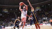 La Fortitudo ha battuto la Tezenis 77-68 (foto Schicchi)