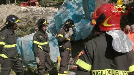 Incidente sul lavoro a Pescara del Tronto