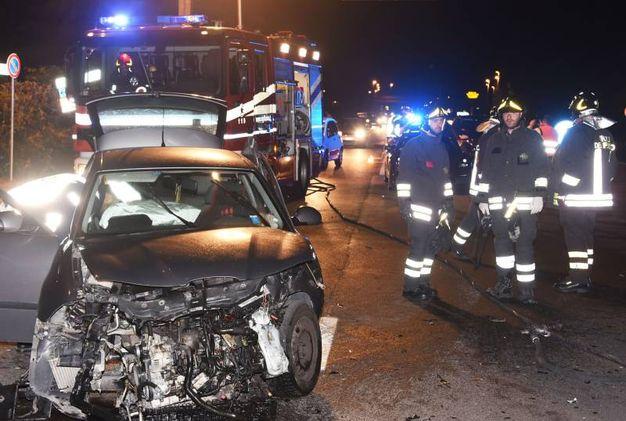 Rimini, incidente con giallo sulla Consolare innescato da tre ...