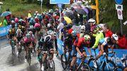 Il Giro d'Italia a Imola (foto Isolapress)
