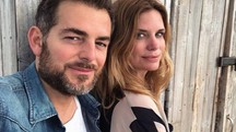 Daniele Bossari e Filippa Lagerback (Instagram)