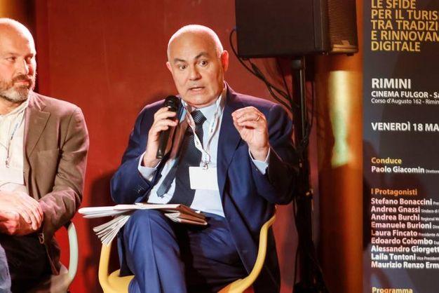 Da sinistra: Edoardo Colombo e Alessandro Giorgetti (foto Bove)