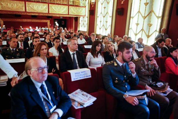 La platea del convegno al cinema Fulgor (foto Bove)