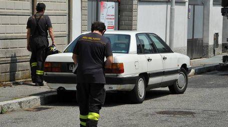 L'incidente in via Cattaneo a Legnano