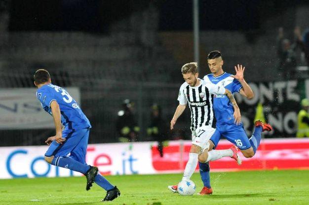 Ascoli-Brescia, finisce 0-0 (foto Labolognese)
