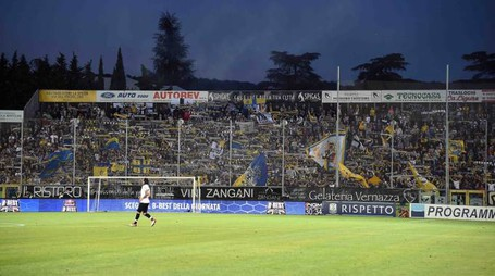 I tifosi del Parma durante Spezia-Parma del 18 maggio