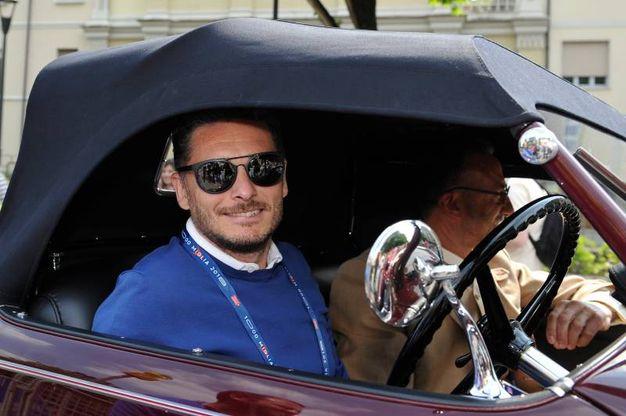 Il campione di F1 Giancarlo Fisichella (La Presse)