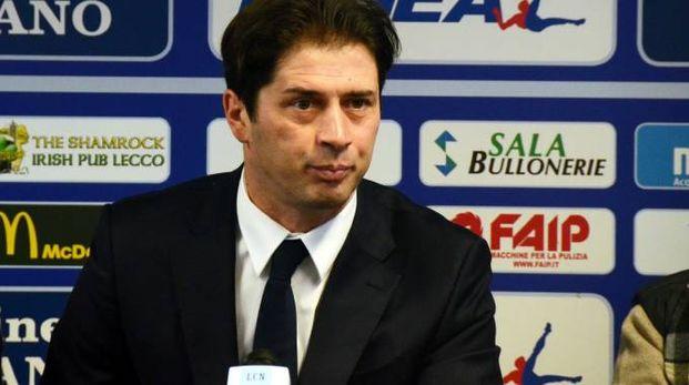 Alessio Tacchinardi nel giorno del suo arrivo