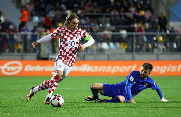 Luka Modric, centrocampista della Croazia, 32 anni (Reuters)