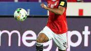 Mohamed Salah, attaccante dell'Egitto, 25 anni (Ansa)