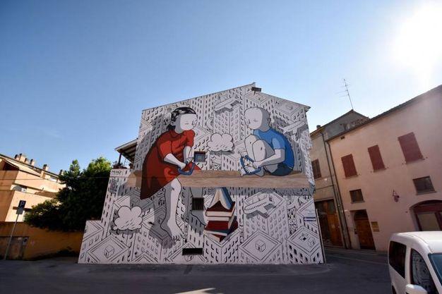 Forlì capitale della Street Art (foto Fantini)