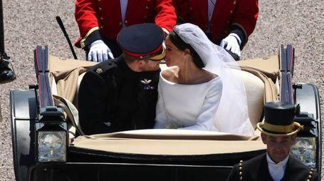 Matrimonio Harry e Meghan Markle (LaPresse)
