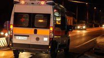 Sul posto le ambulanze del 118