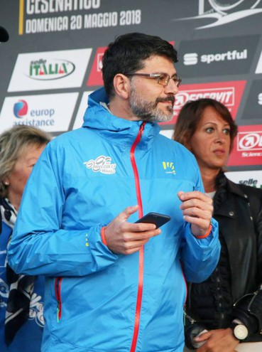 L'organizzatore, Alessandro Spada (Foto Ravaglia)