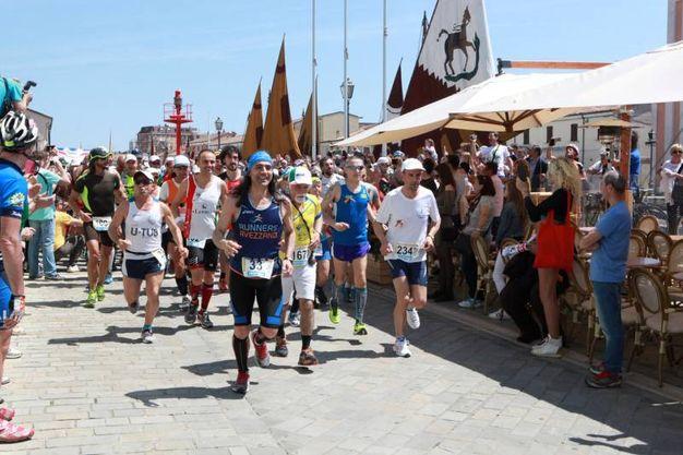 La versione 'running' della corsa (Foto Ravaglia)