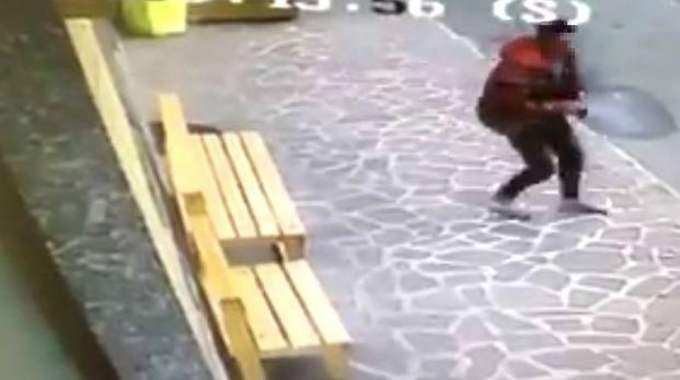 Il ladro messo in fuga dalla commerciante e consigliere comunale