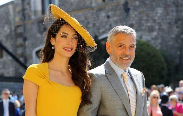 Amal e George Clooney (Lapresse)