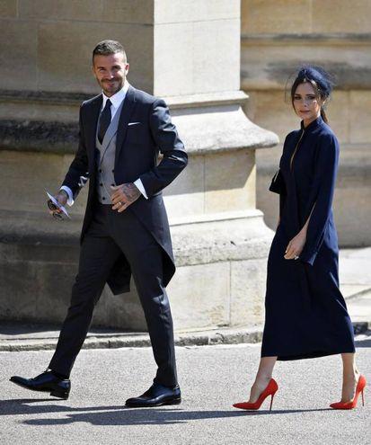 David e Victoria Beckham (Ansa)