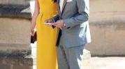 I coniugi Clooney (Ansa)