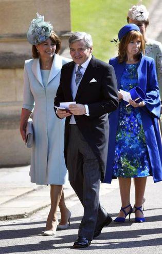 I genitori di Kate Middleton (Ansa)