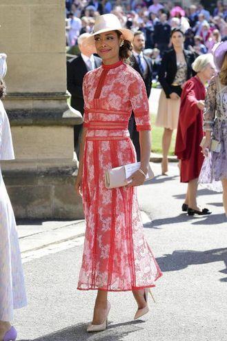 L'attrice Gina Torres, collega della Markle sul set di 'Suits' (Ansa)