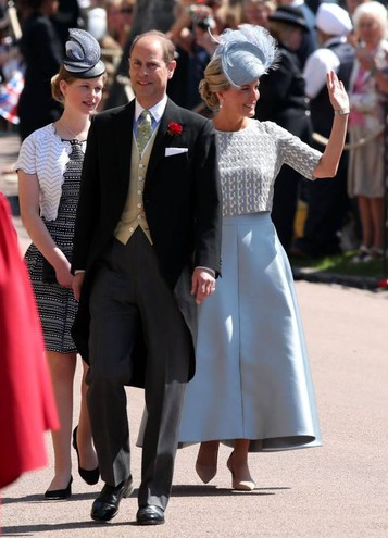 La contessa Sophie di Wessex e il principe Edward (Lapresse)