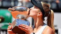 Elina Svitolina vincitrice degli Internazionali di Roma 2018 (Ansa)