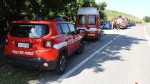 I sommozzatori dei vigili del fuoco hanno recuperato il corpo (Scardovi)