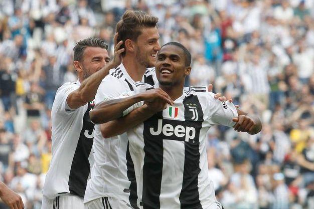 Juventus-Verona 1-0, Rugani (Lapresse)