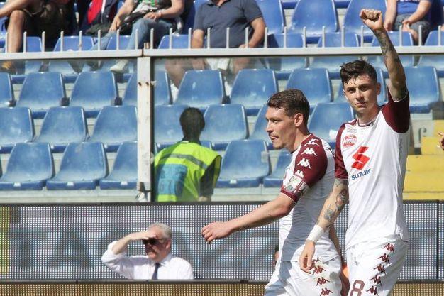 Genoa-Torino 0-2, Baselli (Lapresse)