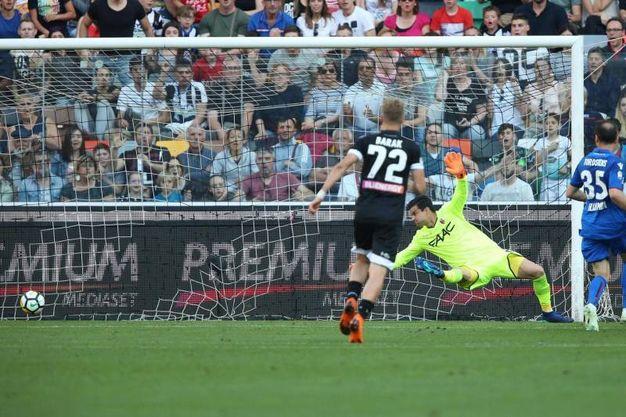 Udinese-Bologna 1-0, Fofana (Ansa)