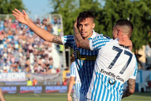 Spal-Sampdoria 2-0, Grassi (Ansa)