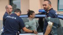 La polizia ha arrestato il 50enne per tentato omicidio; a sinistra il sostituto procuratore Moramarco