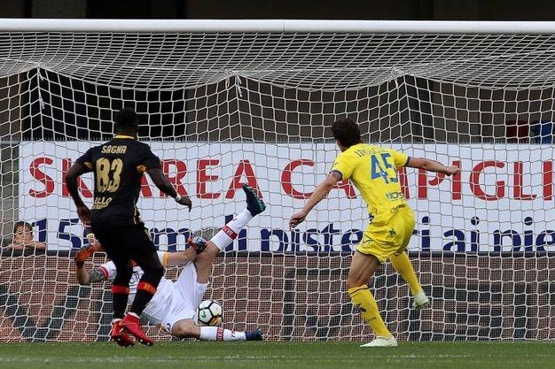 Chievo-Benevento 1-0, Inglese (LaPresse)