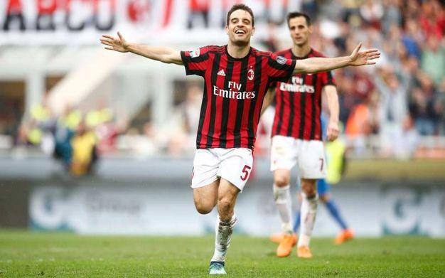Milan-Fiorentina 5-1, Bonaventura (LaPresse)