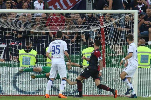 Cagliari-Atalanta 1-0, Ceppitelli (Ansa)