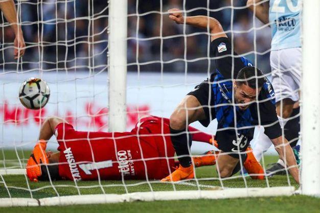 Lazio-Inter 1-1, D'Ambrosio (Ansa)