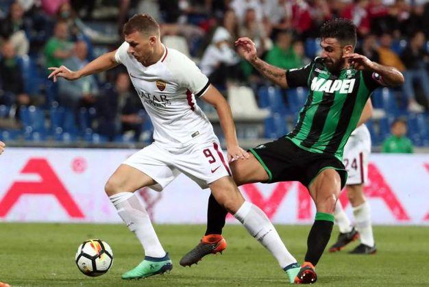 Sassuolo-Roma, finisce 0-1 (foto Ansa)
