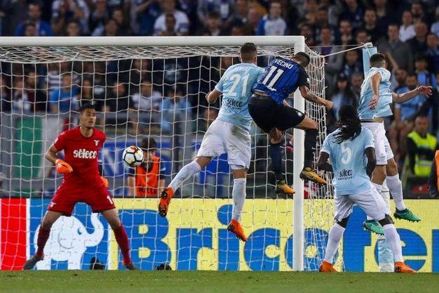 Lazio-Inter 2-3, Vecino (Ansa)