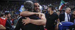 L'Inter batte la Lazio e va in Champions League (Ansa)